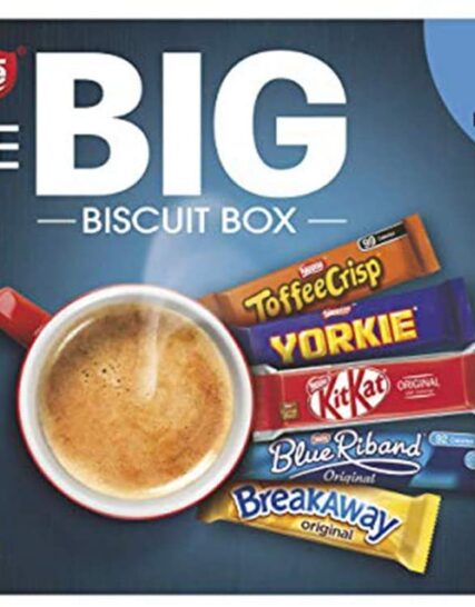 NESTLÉ The Big Biscuit Box, Chocolate Biscuit Bars, Christmas Gift x71