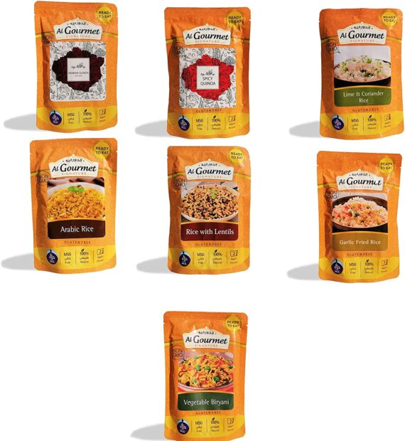 ALGOURMET Ready to EAT Rice & Quinoa 250G - Multipack (Pack of 7)
