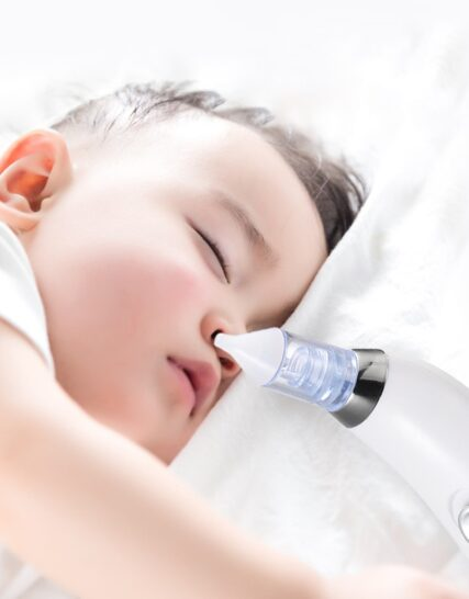 Baby Nasal Aspirator Electric Baby Care Nose Cleaner Sniffling Equipment Sucker Cleaner Equipment Safe Hygienic Nose Aspirator