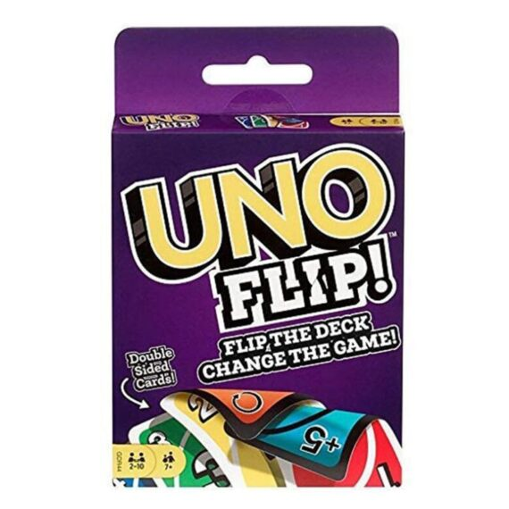 Mattel Games UNO Card Games Jurassic World Harry Potter Frozen Minecraft DOS Flip Phase 10 Party Card Games and Puzzles toys