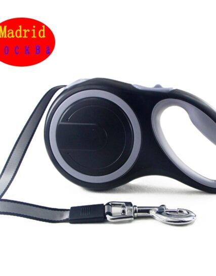 Retractable Dog Leash Heavy Duty Automatic Extending 26Ft Strong Nylon Leash for Cat Large Puppy Small Medium Pet Dog Accessorie