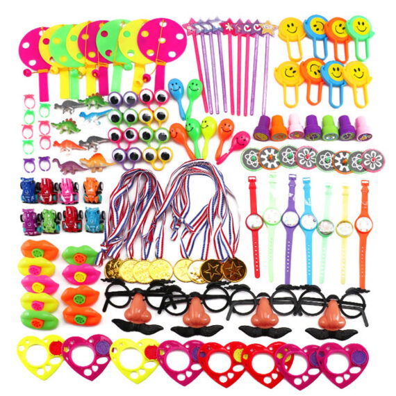 150/130/120/100 pcs Birthday Pinata Fillers Small Bulk Toys Party Gift Favors Kids Puzzle Toy Event Party Game Giveaways Prizes