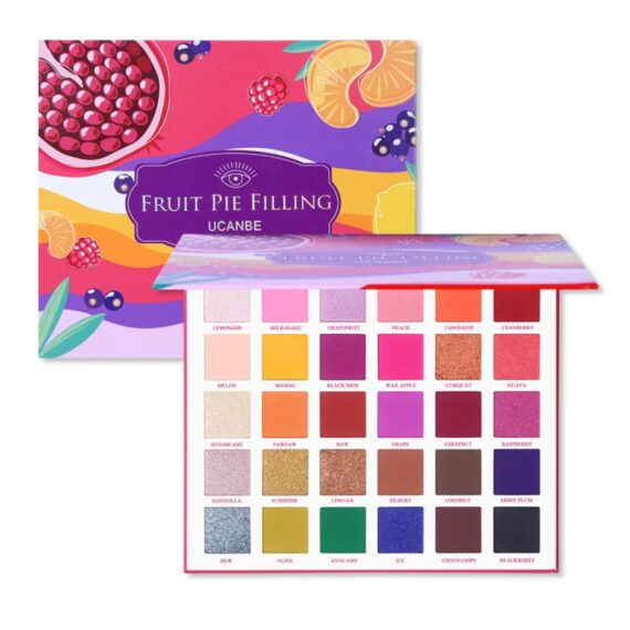 UCANBE Eyeshadow Pallete Filling Eyeshadow Palettes Makeup Kit Bright Bright Glitter Shimmer Matte Shades Pigment 30 Colors TSLM