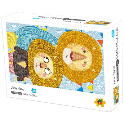 MINI Jigsaw Puzzle 1000 Pieces Puzzle Game Wooden Assembling Puzzles for Adults Puzzle Toys Kids Children Educational Toys