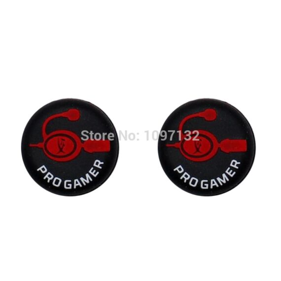 2pcs NEW PS5 Silicone Rubber Thumbstick Grip Caps for Playstation 5 4 3 Slim Switch Pro Joystick Game Controller Accessories