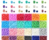 Wholesale 2mm 3mm 4mm Glass SeedBeads Czech seed beads round beads For DIY Bracelet Necklace Jewelry Accessories 24 colors