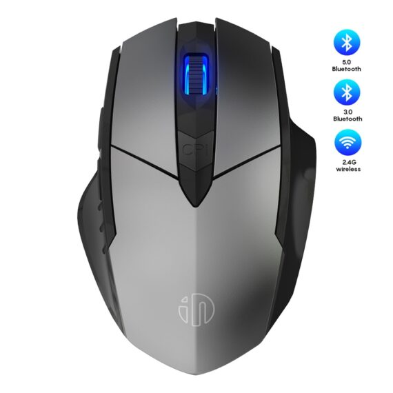 Mouse Wireless 2.4GHz Ergonomic Mice Mouse 4000DPI USB Receiver Optical Computer Gaming Mouse For Laptop PC