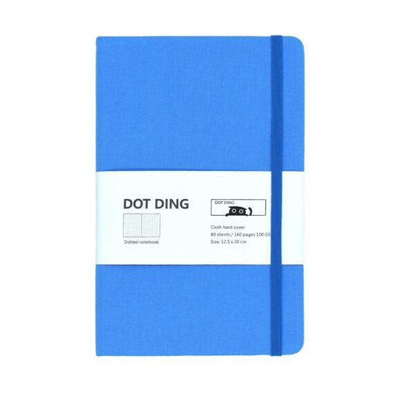 A5 Bullet Dotted-Journal Planner Cloth hardcover 100GSM 160 pages Dotted Notebook Office&School notepad supplies Stationery