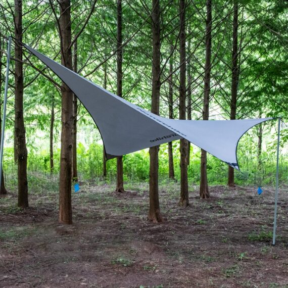 Naturehike new tarp beach tent canopy awning pergola sun shelter for outdoor camping hiking 402*268 mm