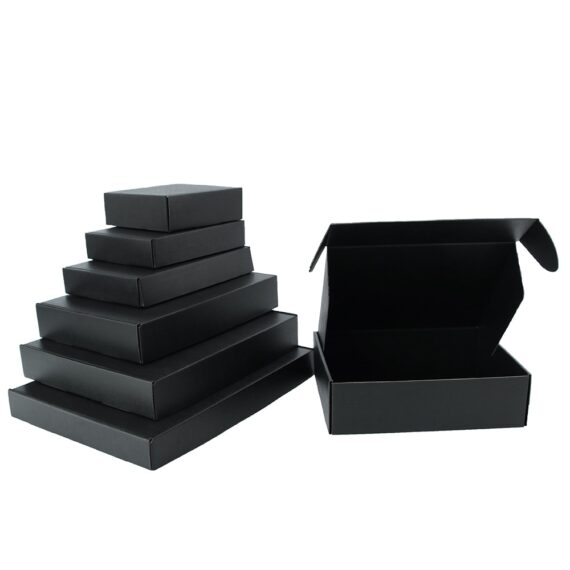 5psc/10pcs/Lot colour carton Small Gifts Packaging Box Blank Kraft carton Support custom sizes and printed logo patterns