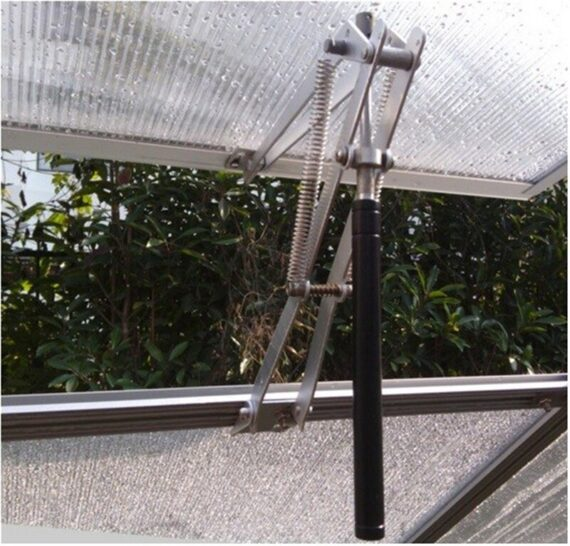 RERO Greenhouse Agricultural Ventilation Tools Double Spring Automatic Window Opener Stainless SteelGarden Vent