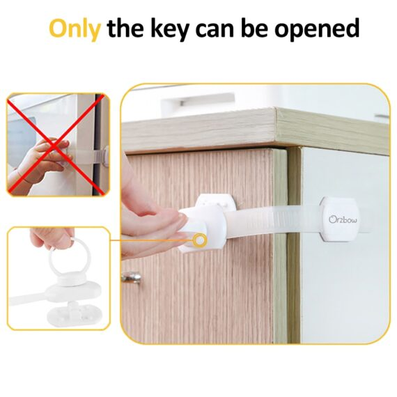 Orzbow Baby Safety Lock For Home Protection From Children Lockers Magnetic Cabinet Door Drawer Refrigerator Security Locks kids