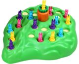 Rabbit Cross Country Competition Children's Puzzle Game Parenting Intelligence Board Game Family Party Game