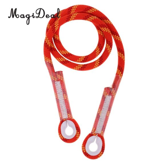 10.5mm Prusik Sewn Eye-To-Eye Pre-Sewn Cord Friction Hitch Loop Rock Climbing Sling Caving Rescue Mountaineering Equipment