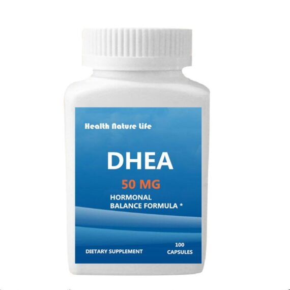 DHEA (dehydroepiandrosterone) 50 mg Supplement - For Women & Men - Healthy Aging Support -100 Caps