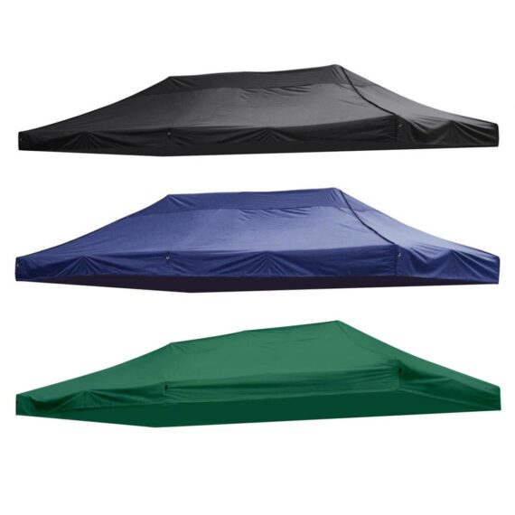 3x6m Big Size Replacement Oxford Tarp Waterproof Garden Tent Sun Shelter Gazebo Canopy Outdoor Marquee Market Shade Anti UV Tent