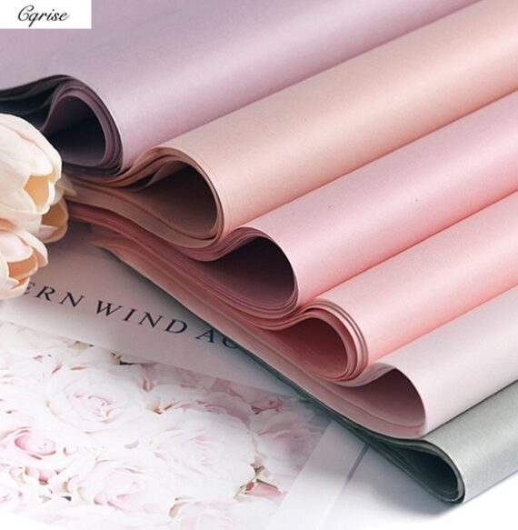40pcs Tissue Paper 75*52CM Craft Paper Floral Wrapping Paper Gift Packing Paper Home Decoration Festive Party Supply