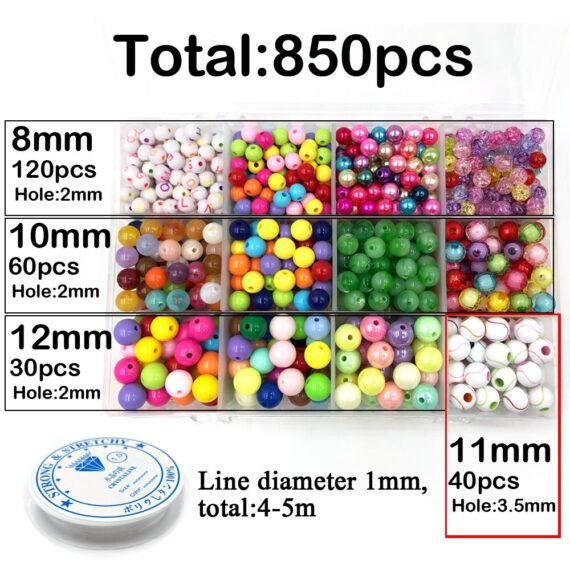 956pcs/Set Unfinished Wooden Round Octagon oval Beads Natural Wood Bead Jewelry Making Handmade For DIY Jewelry