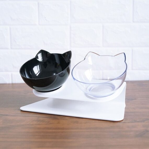 Pet Bowls Dog Food Water Feeder Pet Drinking Dish Feeder Cat Puppy With Raised Feeding Supplies Small Dog Accessories Pet Produc