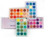 Beauty Glazed 60/39 Color Pearlescent Matte Eye Shadow Strong Adhesive Long Lasting Foggy Makeup Eyeshadow Plate TSLM1