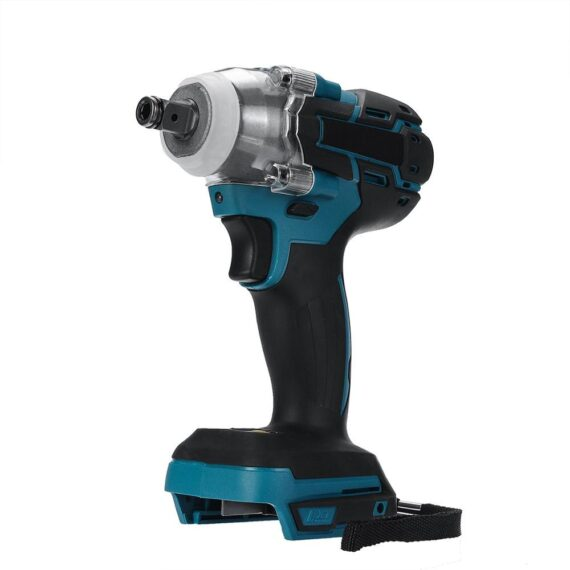 ALLSOME 18V Electric Brushless Impact Wrench Cordless 1/2 Socket Wrench Power Tool For Makita Battery Rechargeable HT2916